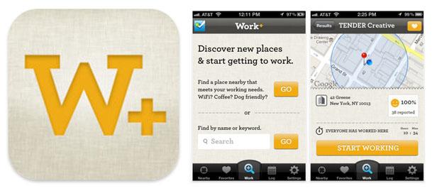 비지니스:Work+ App