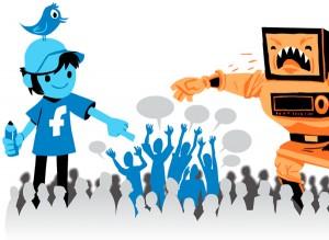 traditional media vs social media.