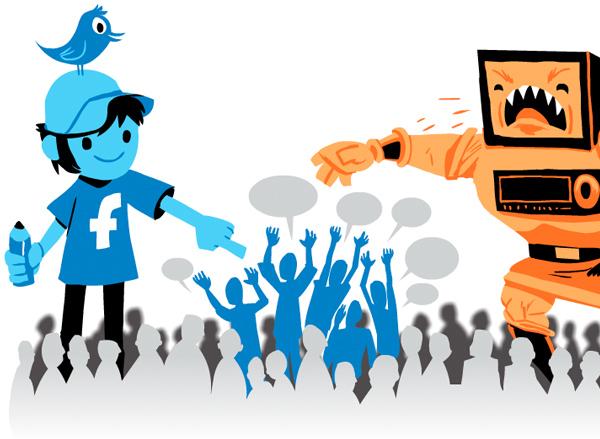 마케팅-전통미디어 vs 소셜미디어