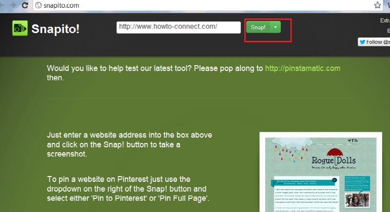 snapito-webpage-capture